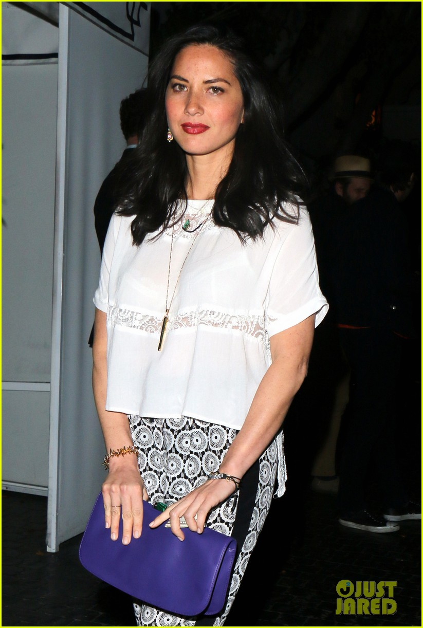 olivia munn girls night out at chateau marmont with angela kinsey 043088339