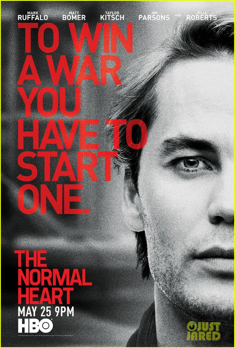 the normal heart teaser posters 023097953