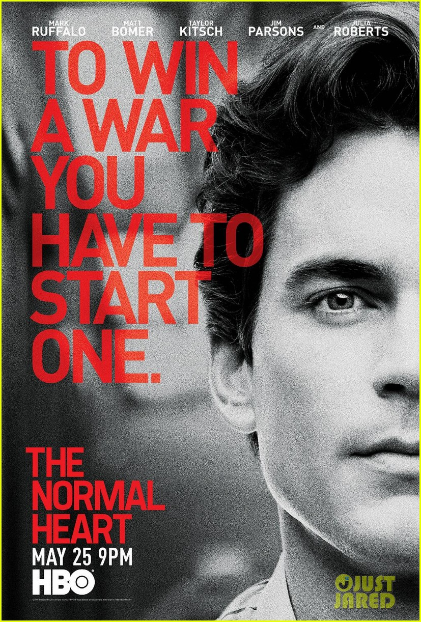 the normal heart teaser posters 053097956