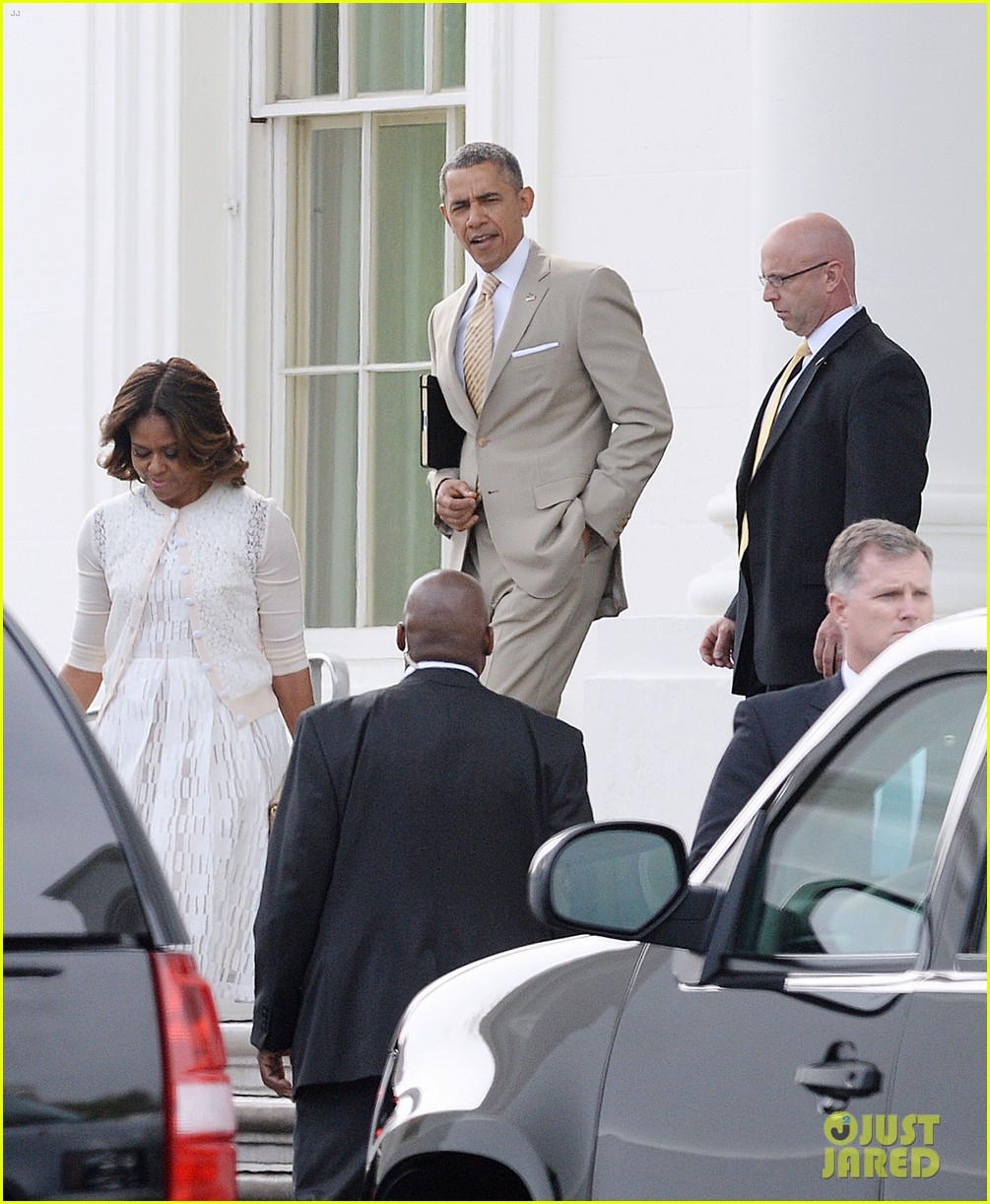 barack michelle obama easter sunday service 033096050