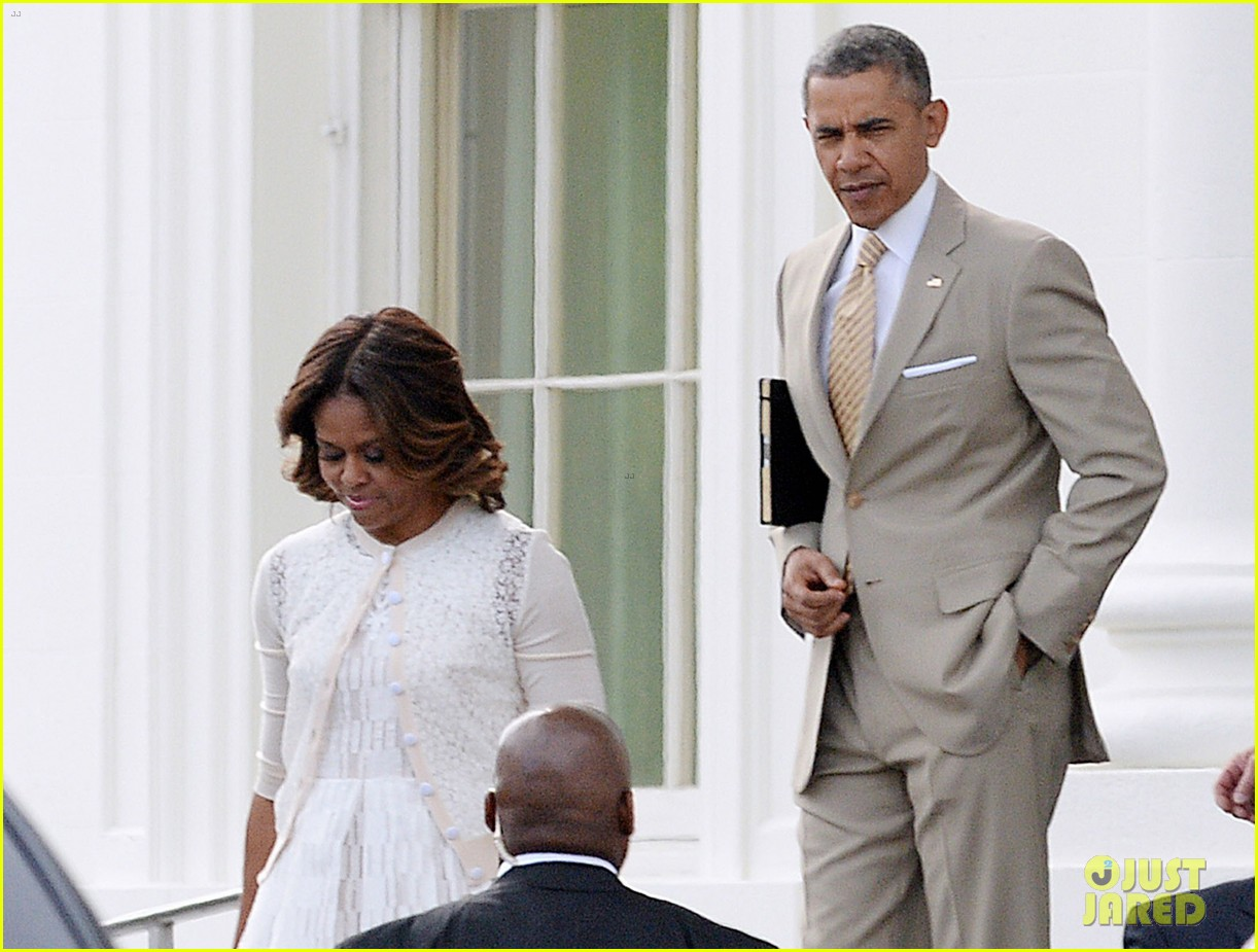 barack michelle obama easter sunday service 043096051