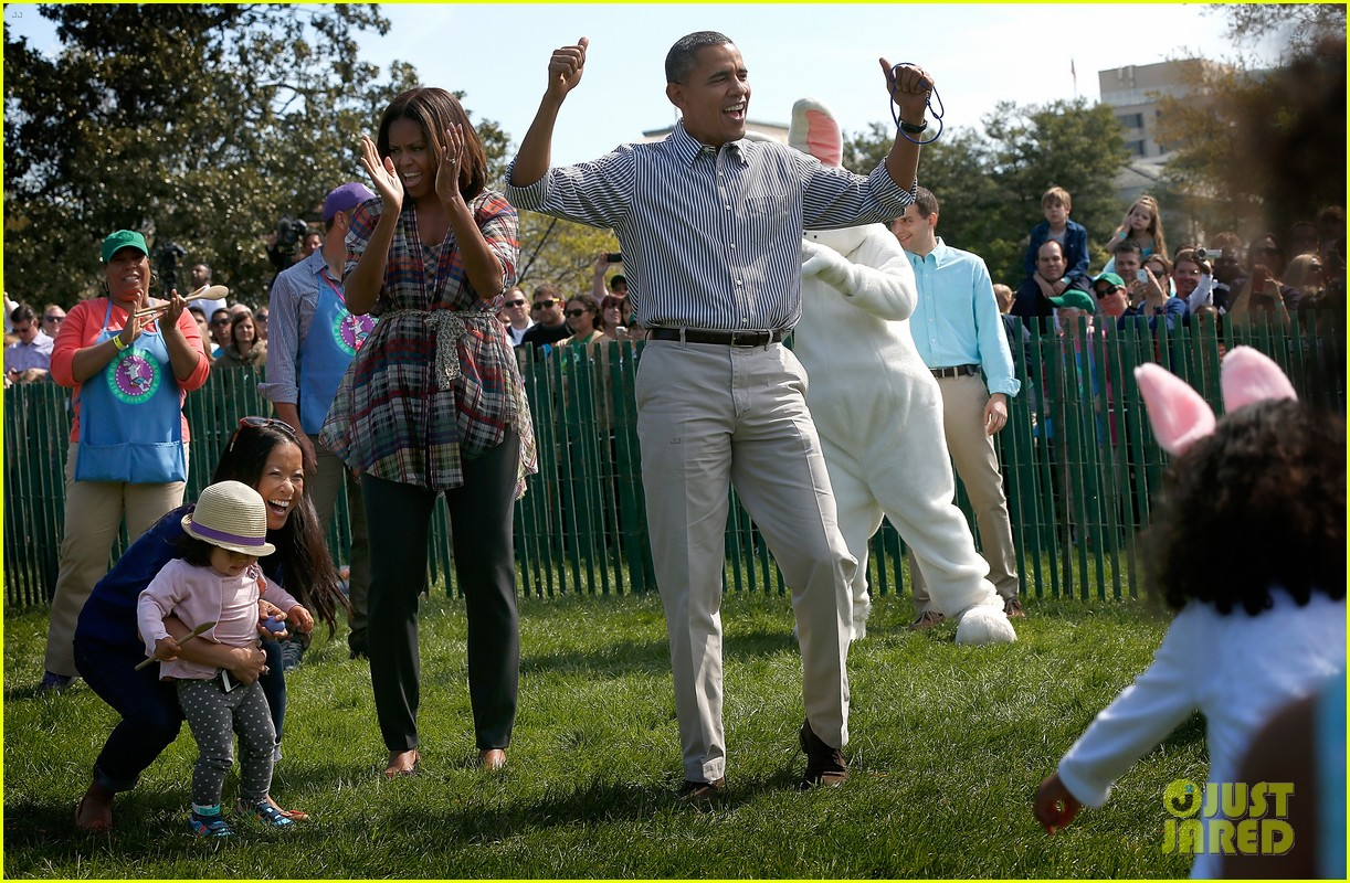 michelle obama white house easter egg roll 033096231