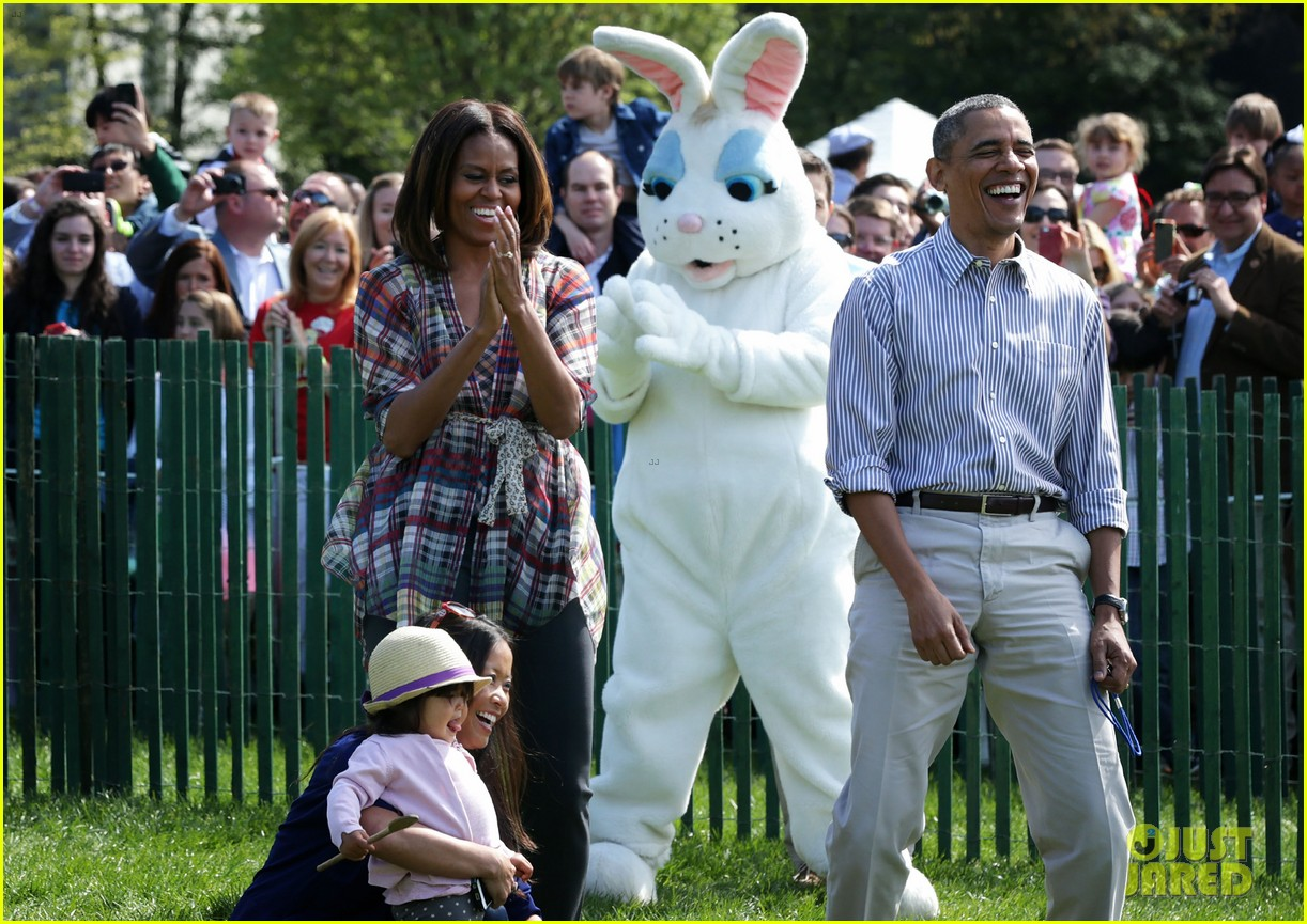 michelle obama white house easter egg roll 073096235