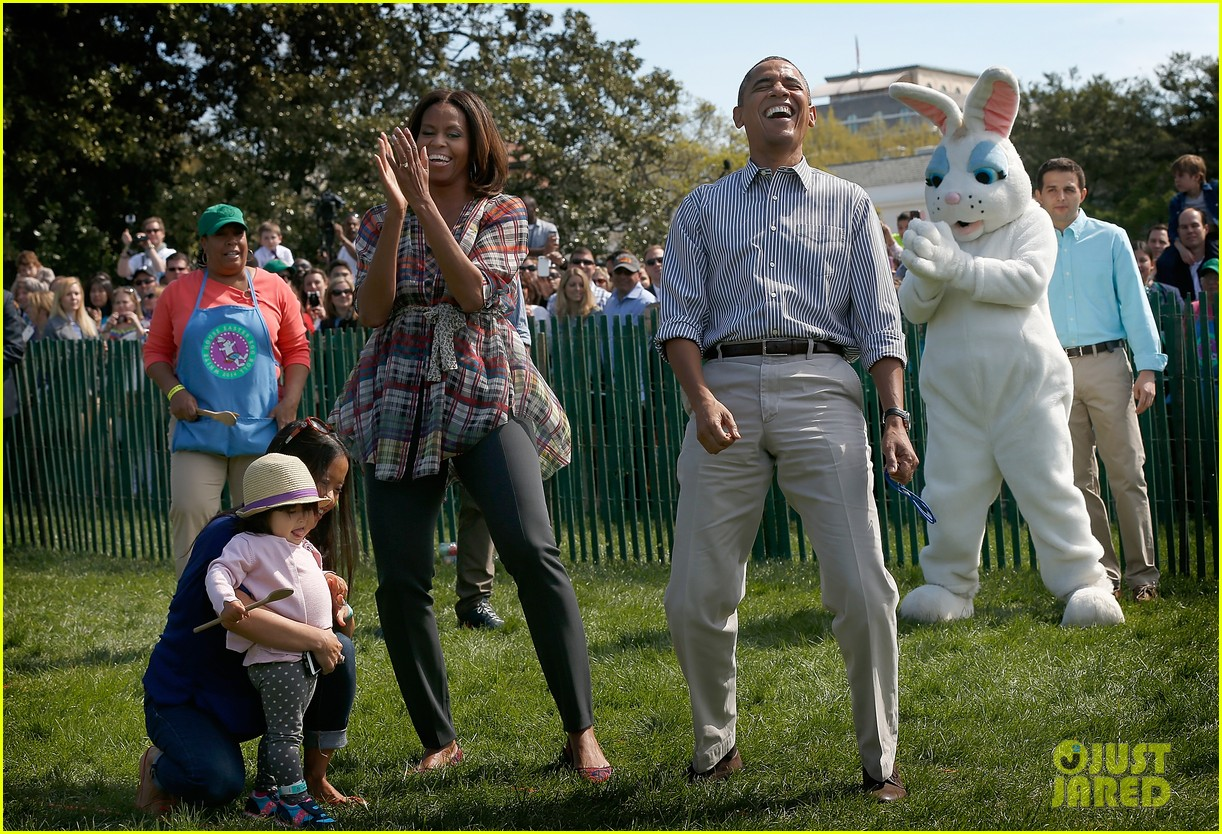 michelle obama white house easter egg roll 093096237