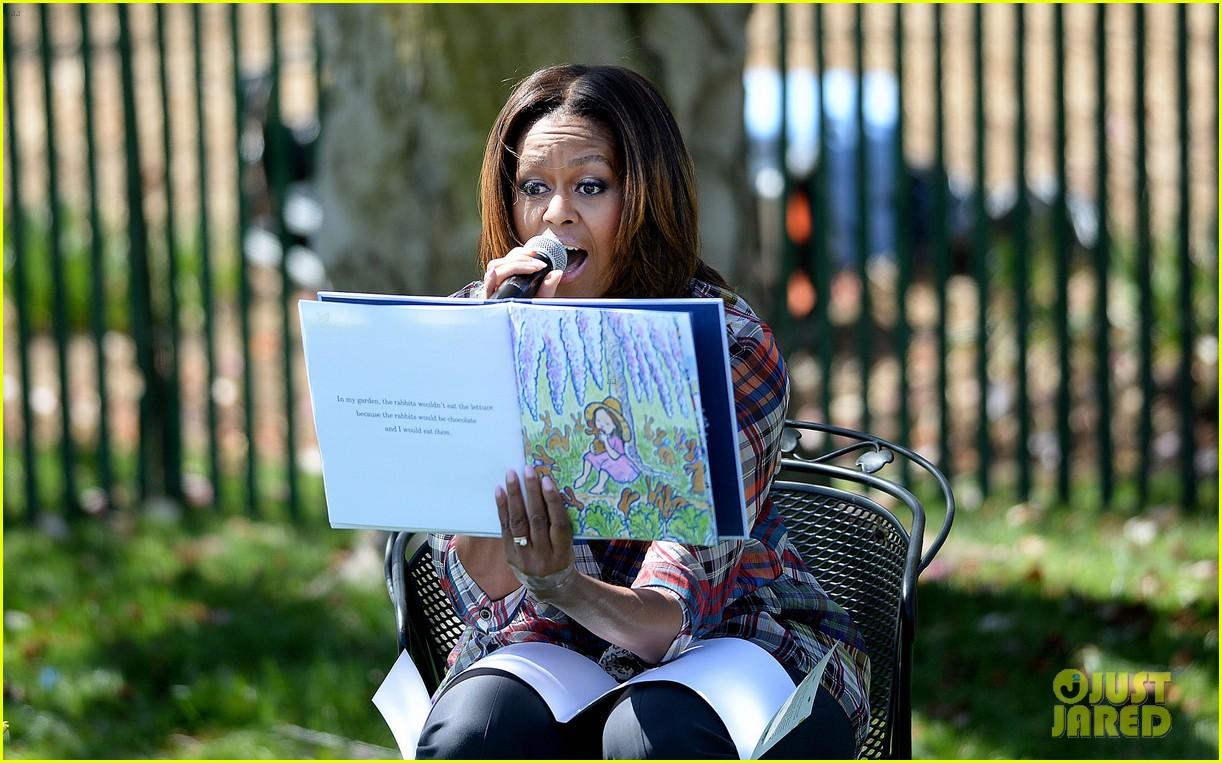 michelle obama white house easter egg roll 213096249