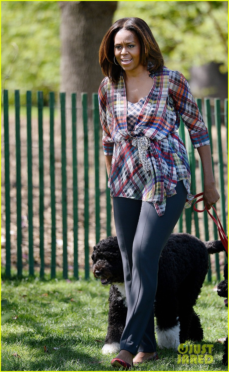 michelle obama white house easter egg roll 253096253