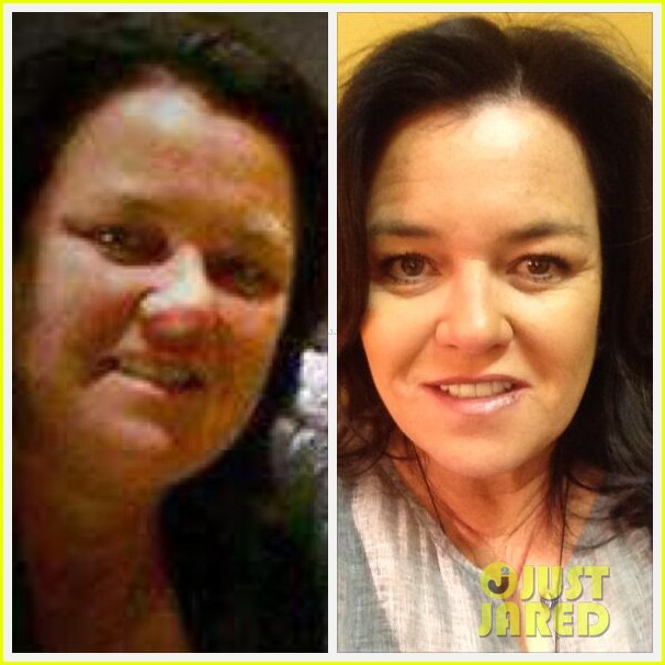 rosie odonnell shows off fifty pound weight loss on twitter 013093950