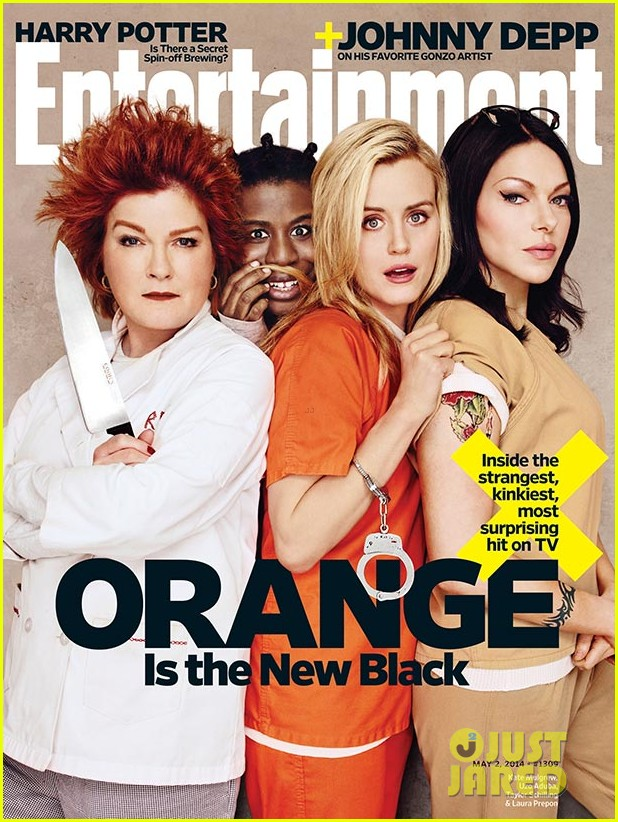 orange is the new black ladies back in prison garb for ew 013097575
