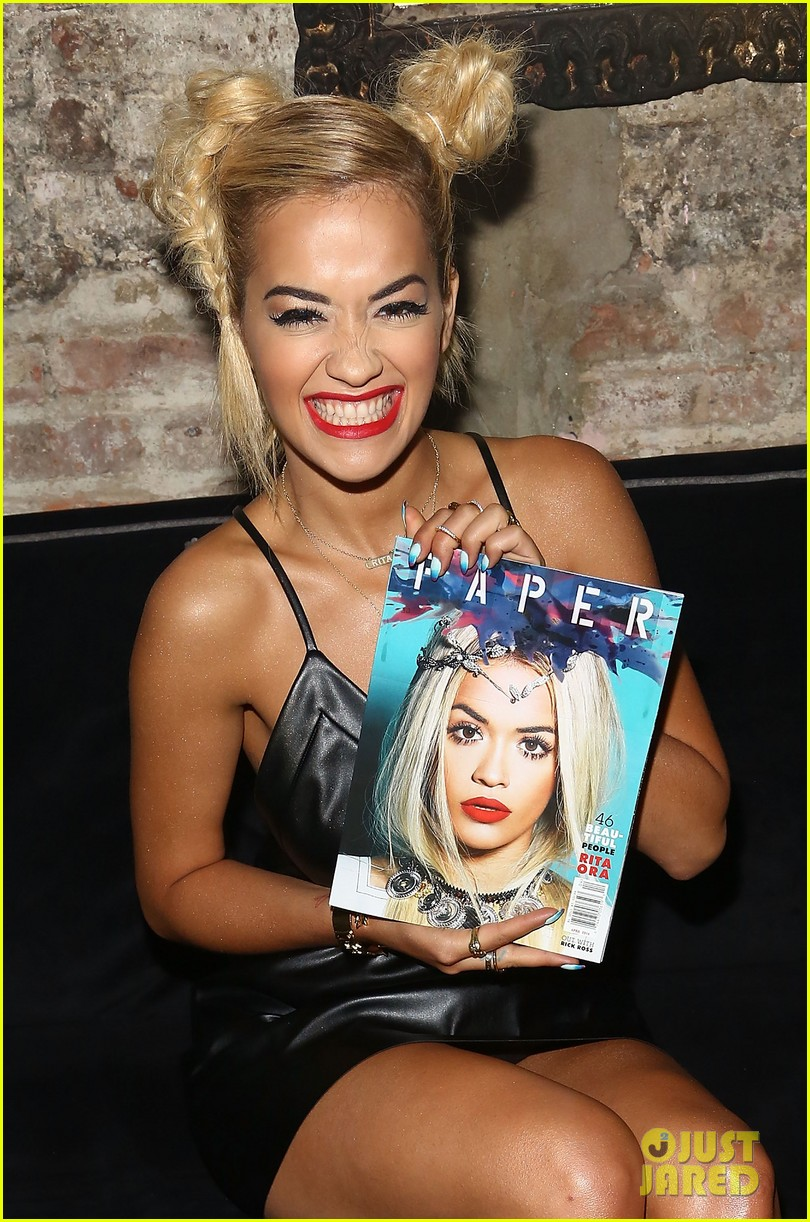 rita ora wears basketball print jacket 043100100