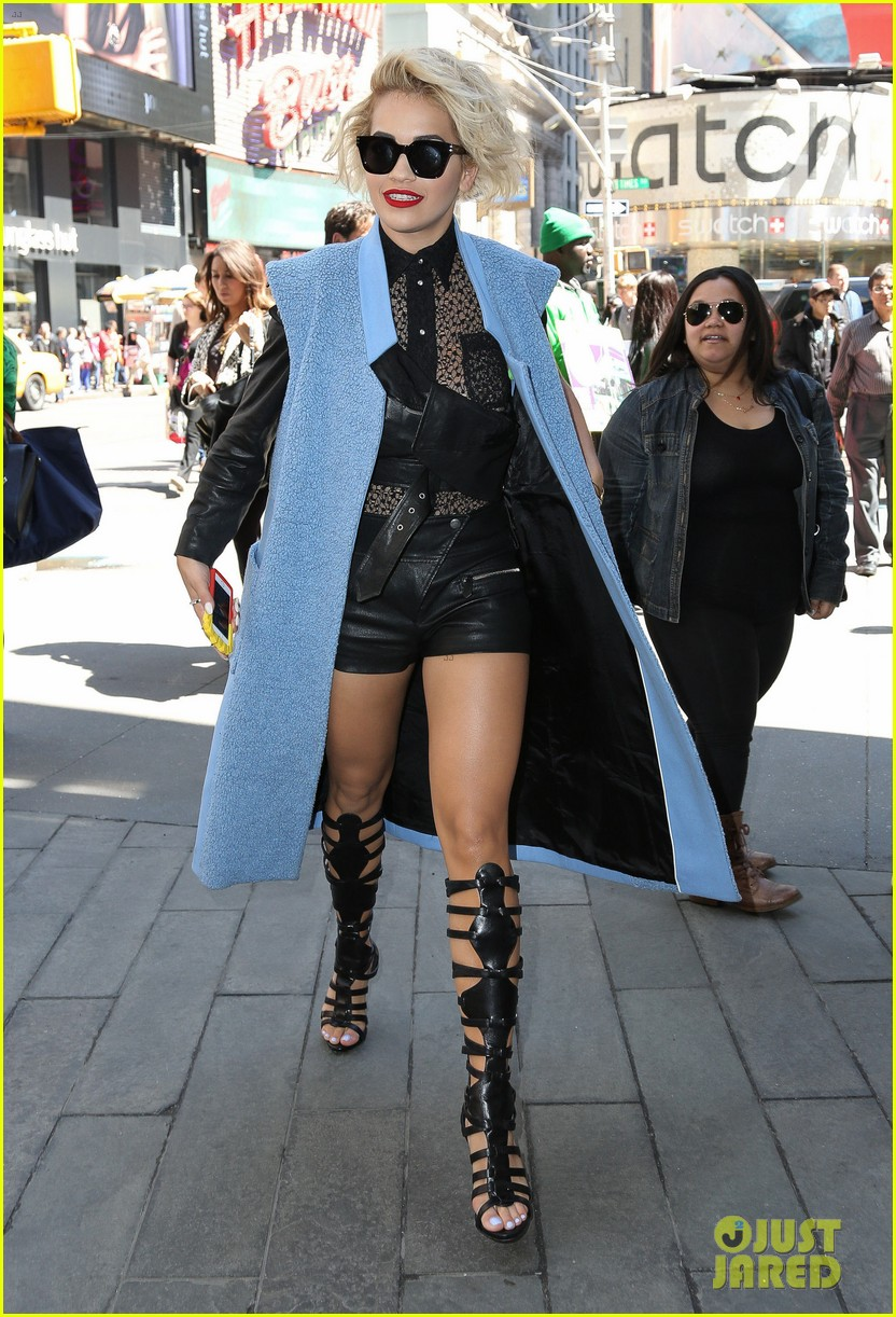 rita ora rocks three outfits to promote i will never let you down in nyc 033096667