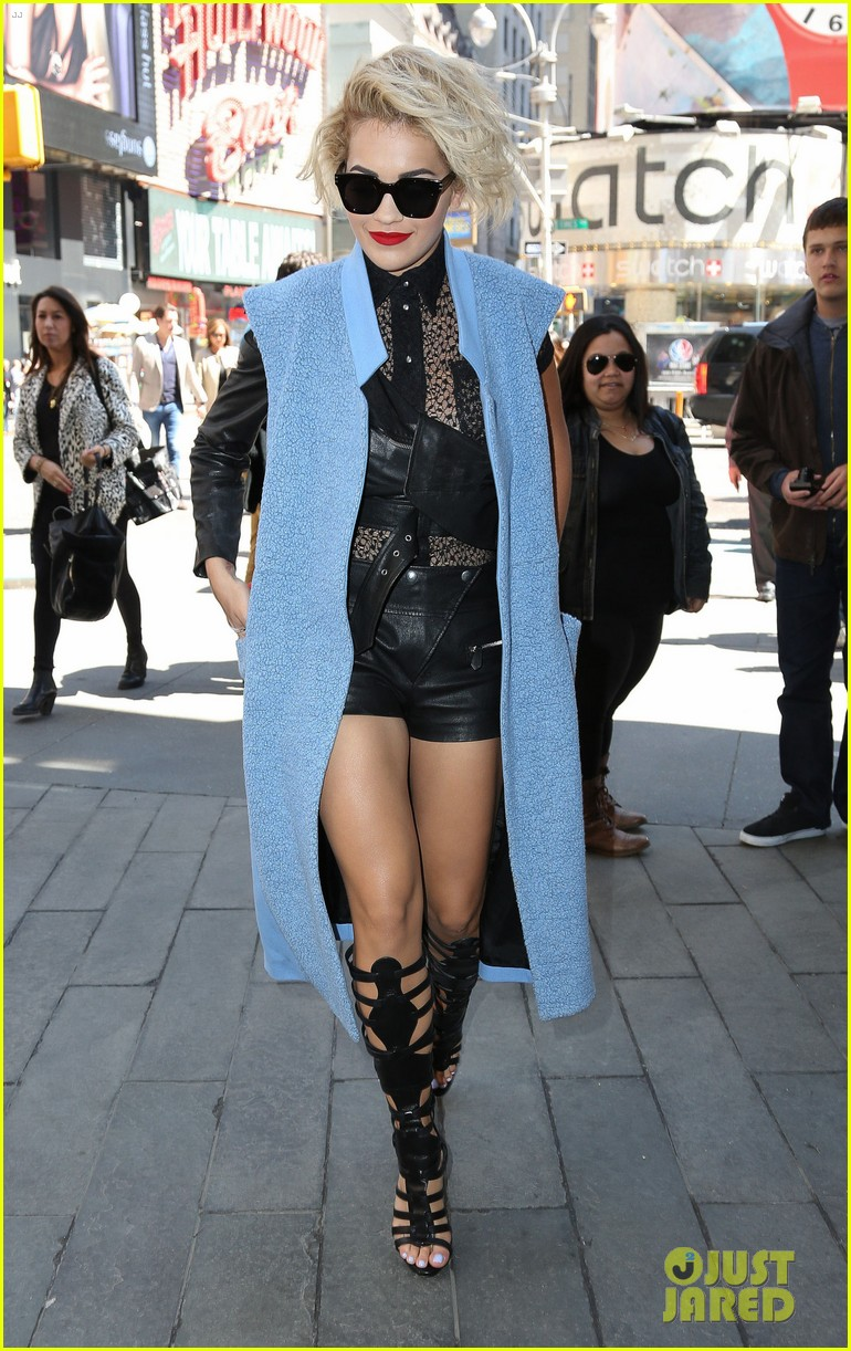 rita ora rocks three outfits to promote i will never let you down in nyc 103096674