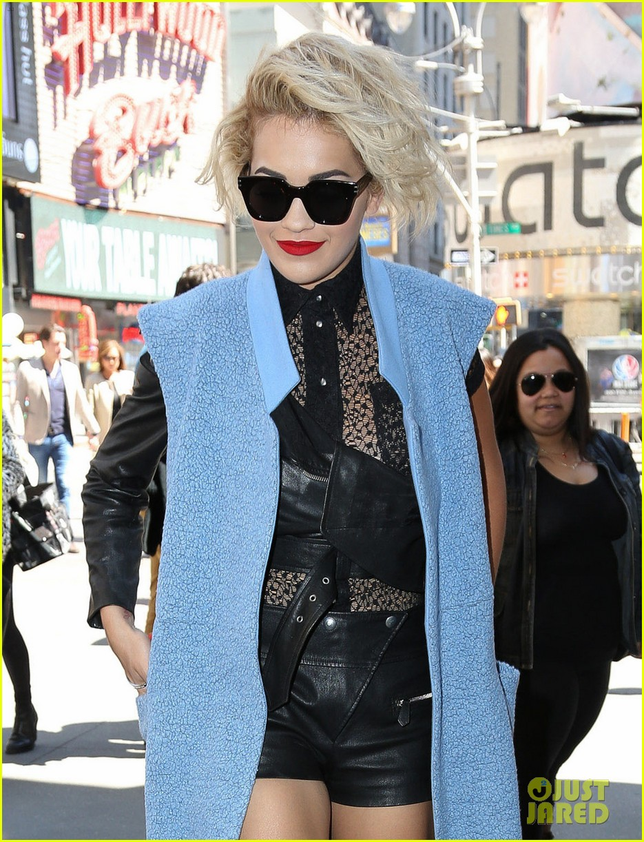rita ora rocks three outfits to promote i will never let you down in nyc 113096675