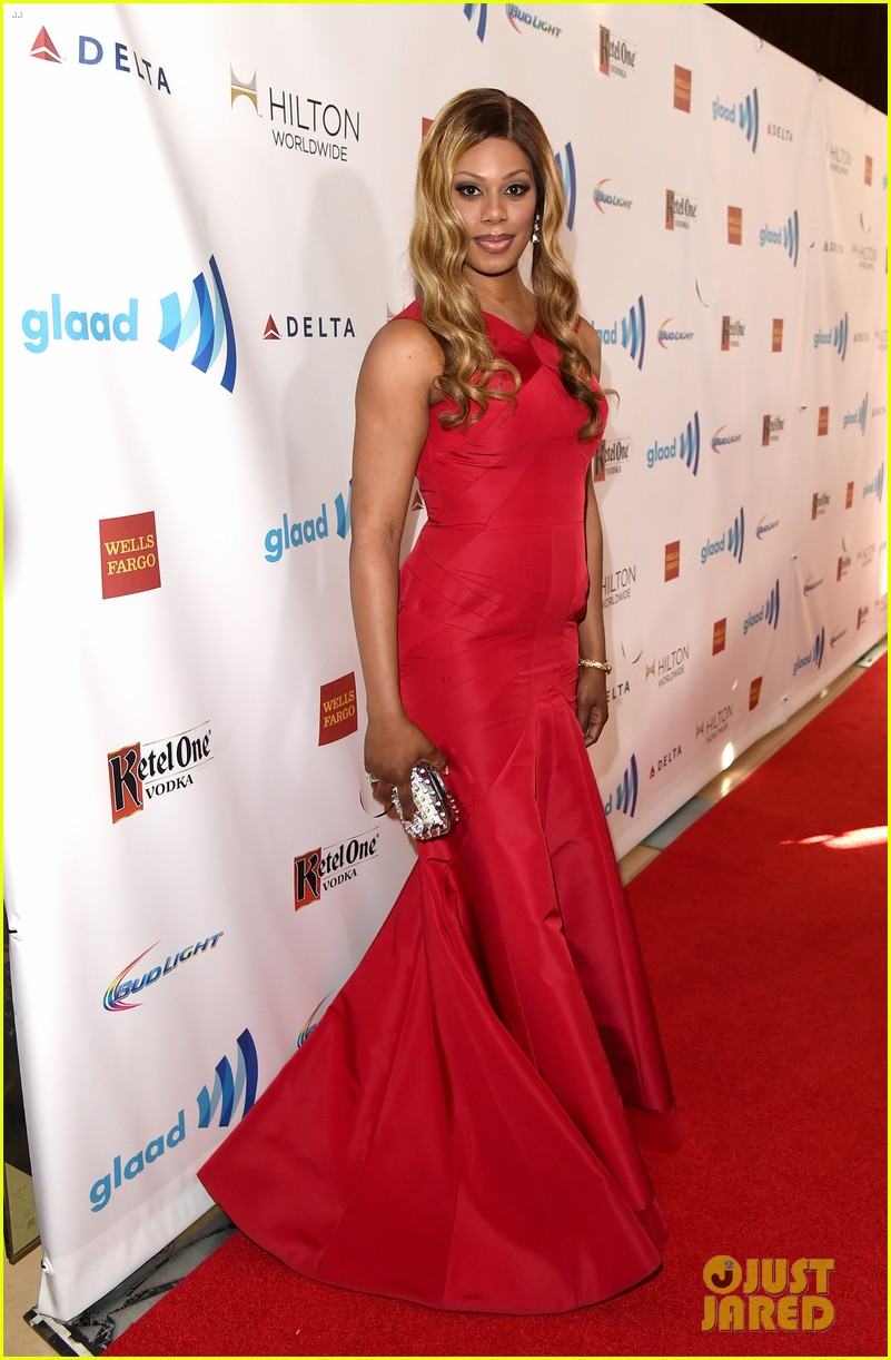 ellen page laverne cox glaad media awards 2014 013090241