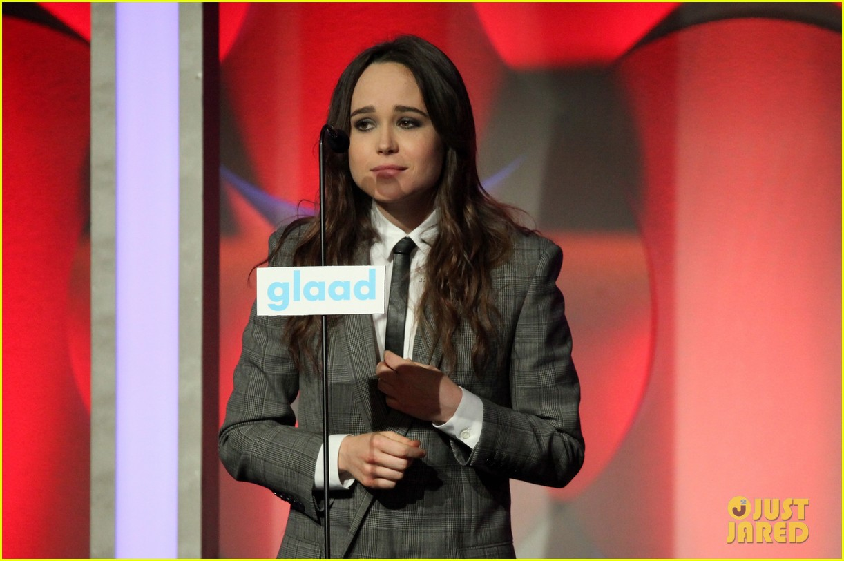 ellen page laverne cox glaad media awards 2014 14