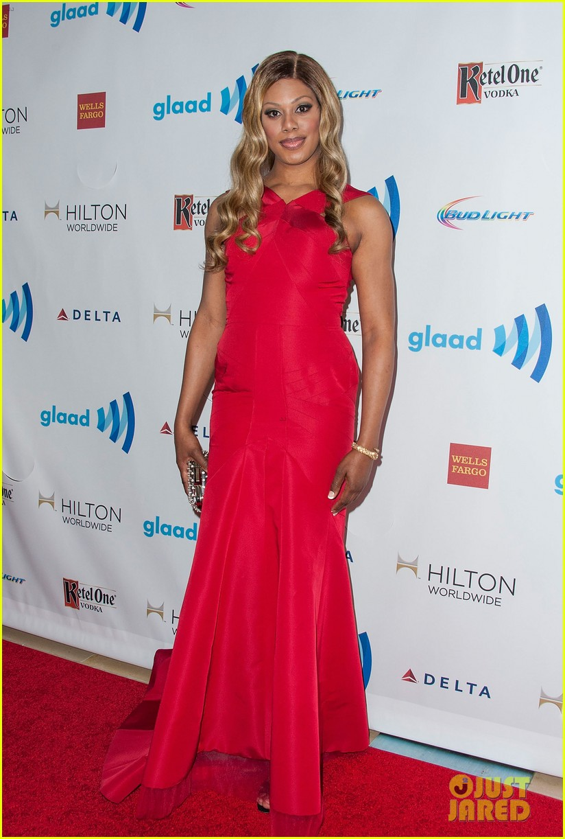 ellen page laverne cox glaad media awards 2014 20