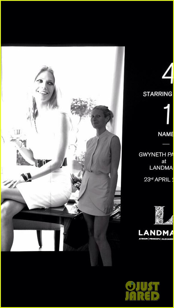gwyneth paltrow attends first event since split from chris martin 013097623