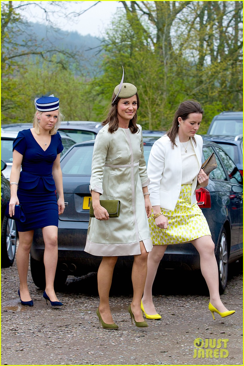pippa middleton goes green for her friends wedding 013101730