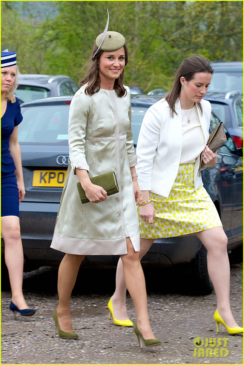 pippa middleton goes green for her friends wedding 053101734