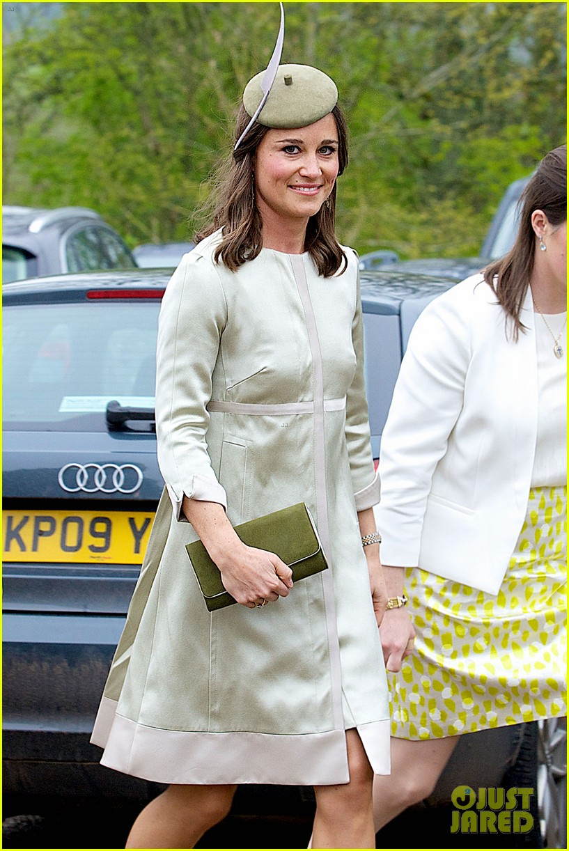pippa middleton goes green for her friends wedding 063101735