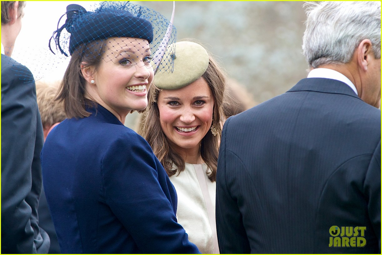 pippa middleton goes green for her friends wedding 073101736