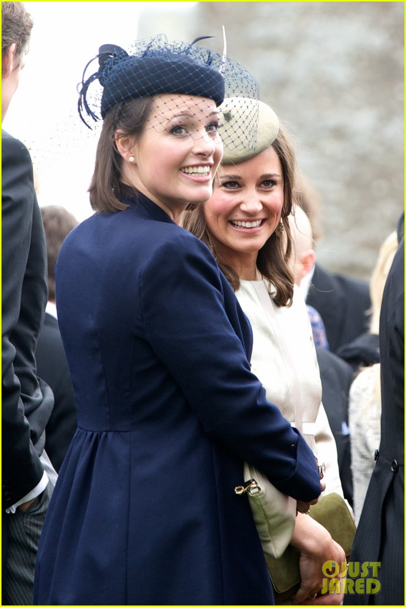 pippa middleton goes green for her friends wedding 083101737