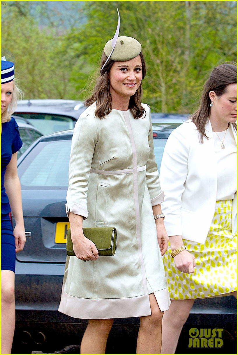 pippa middleton goes green for her friends wedding 183101747