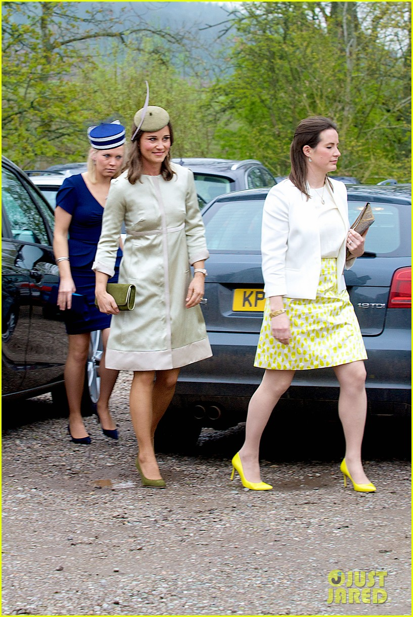 pippa middleton goes green for her friends wedding 233101752