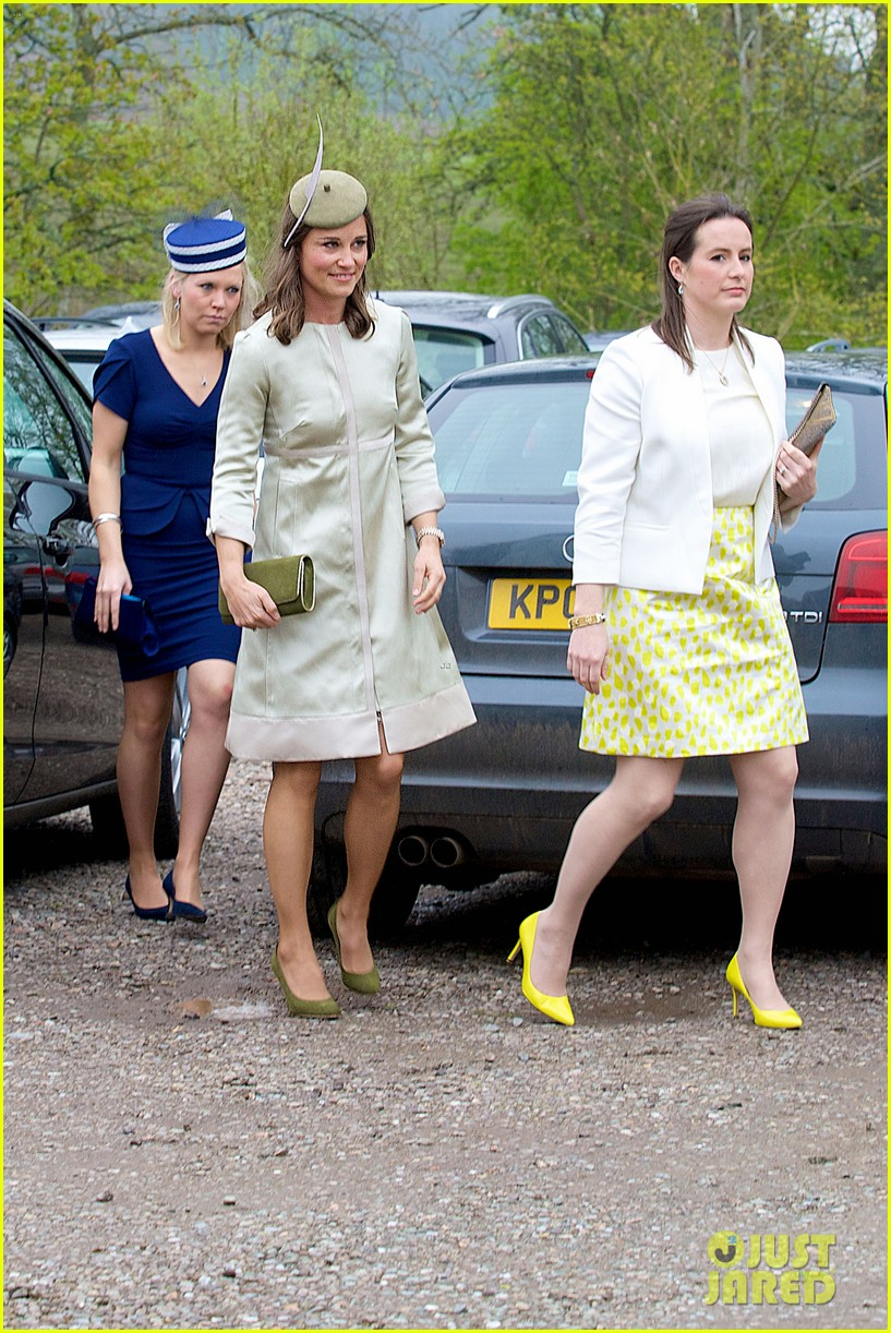 pippa middleton goes green for her friends wedding 243101753