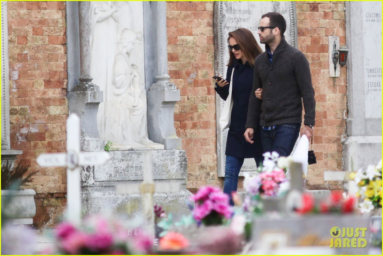 natalie portman benjamin millepied romantic vacation venice 063090803