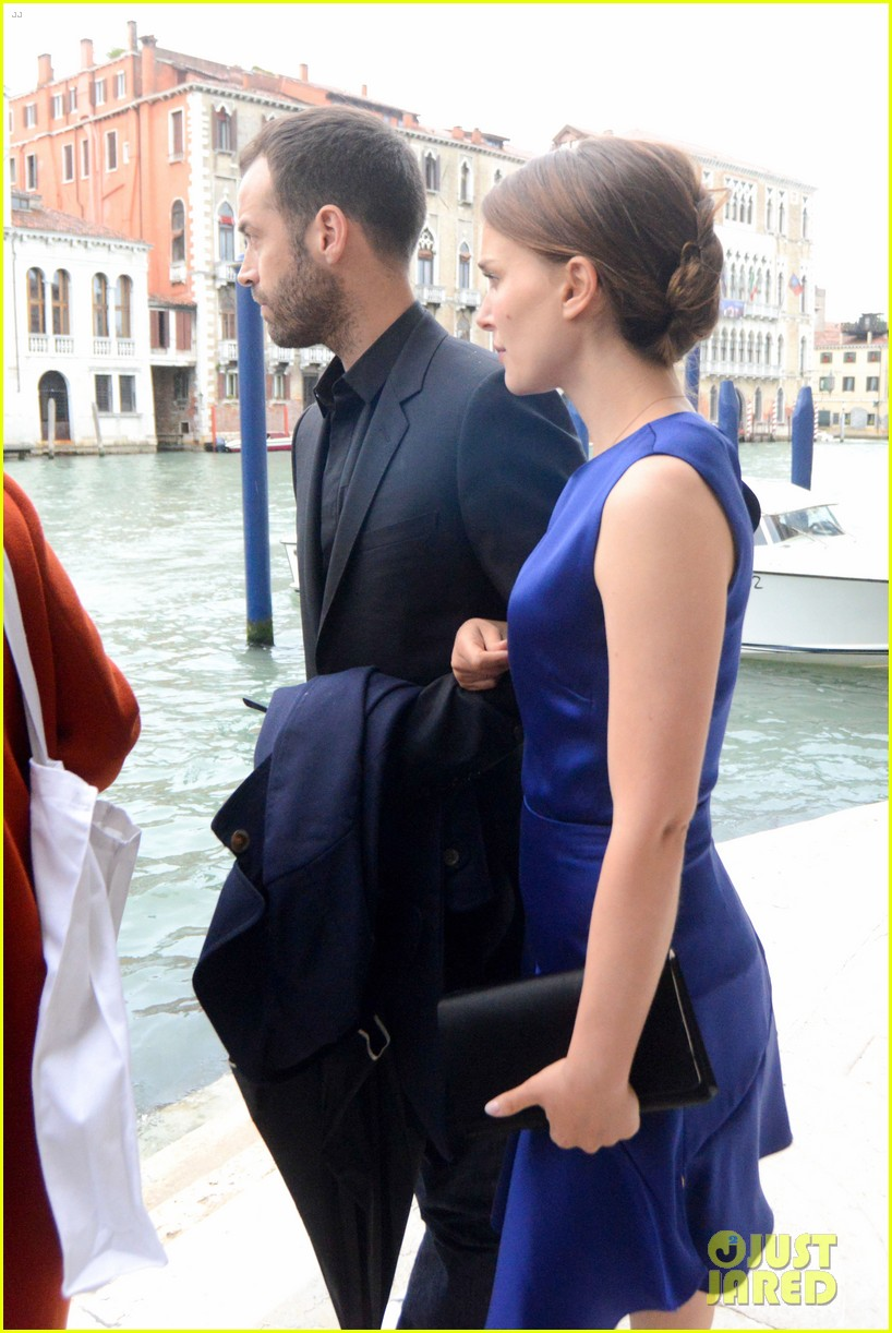natalie portman benjamin millepied romantic vacation venice 213090818