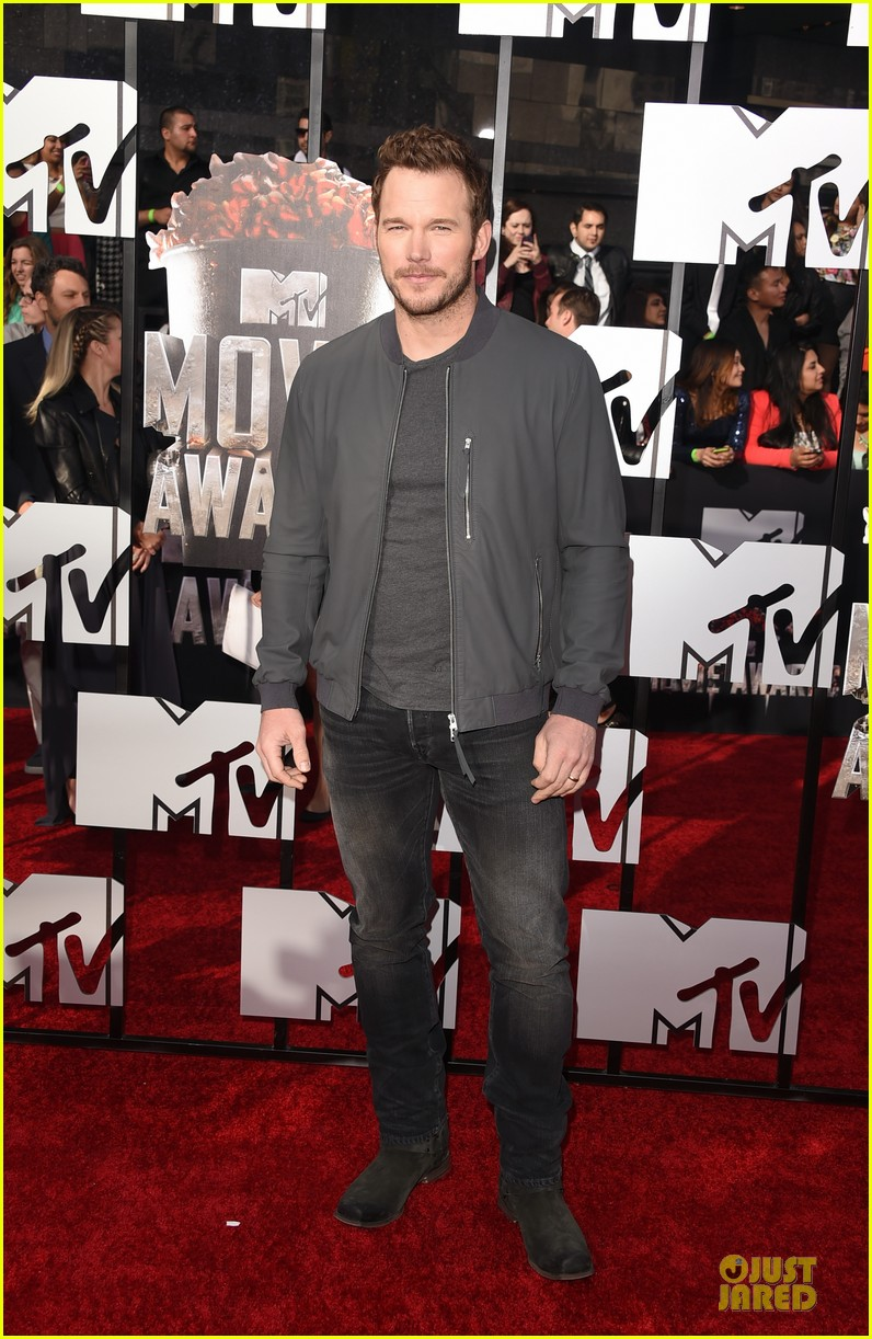 chris pratt cool stud mtv movie awards 033091231
