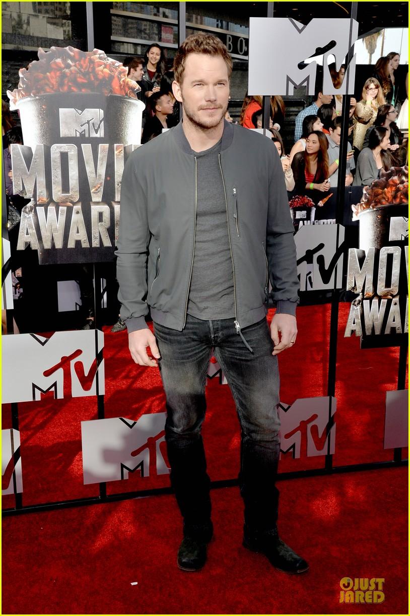 chris pratt cool stud mtv movie awards 053091233