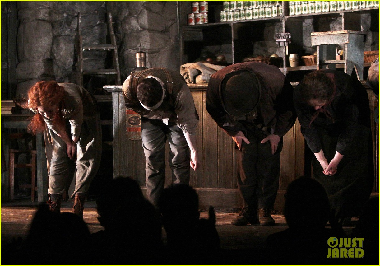 daniel radcliffe takes a much deserved bow for official broadway return 053090917