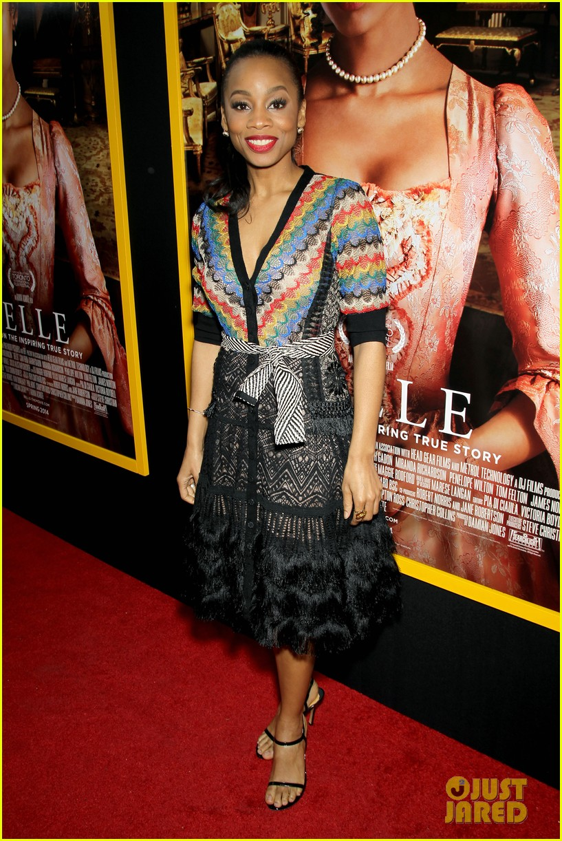 gugu mbatha raw is a green goddess at belle premiere 033101057