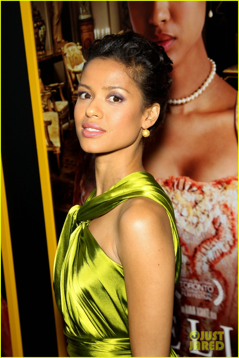 gugu mbatha raw is a green goddess at belle premiere 063101060