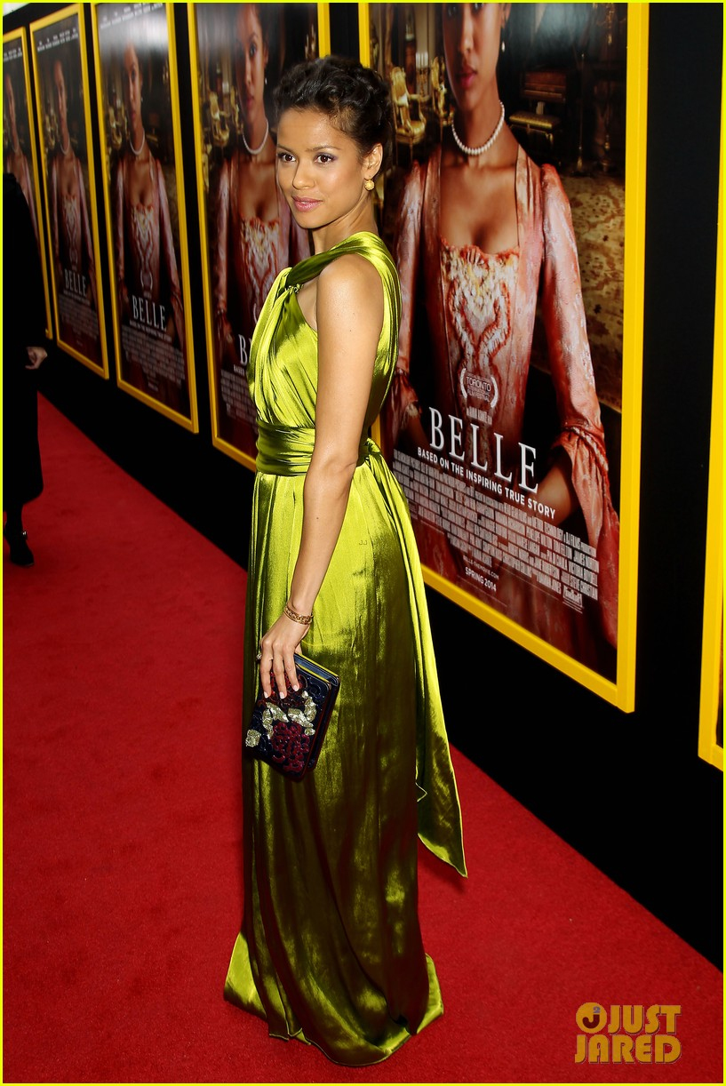 gugu mbatha raw is a green goddess at belle premiere 113101065