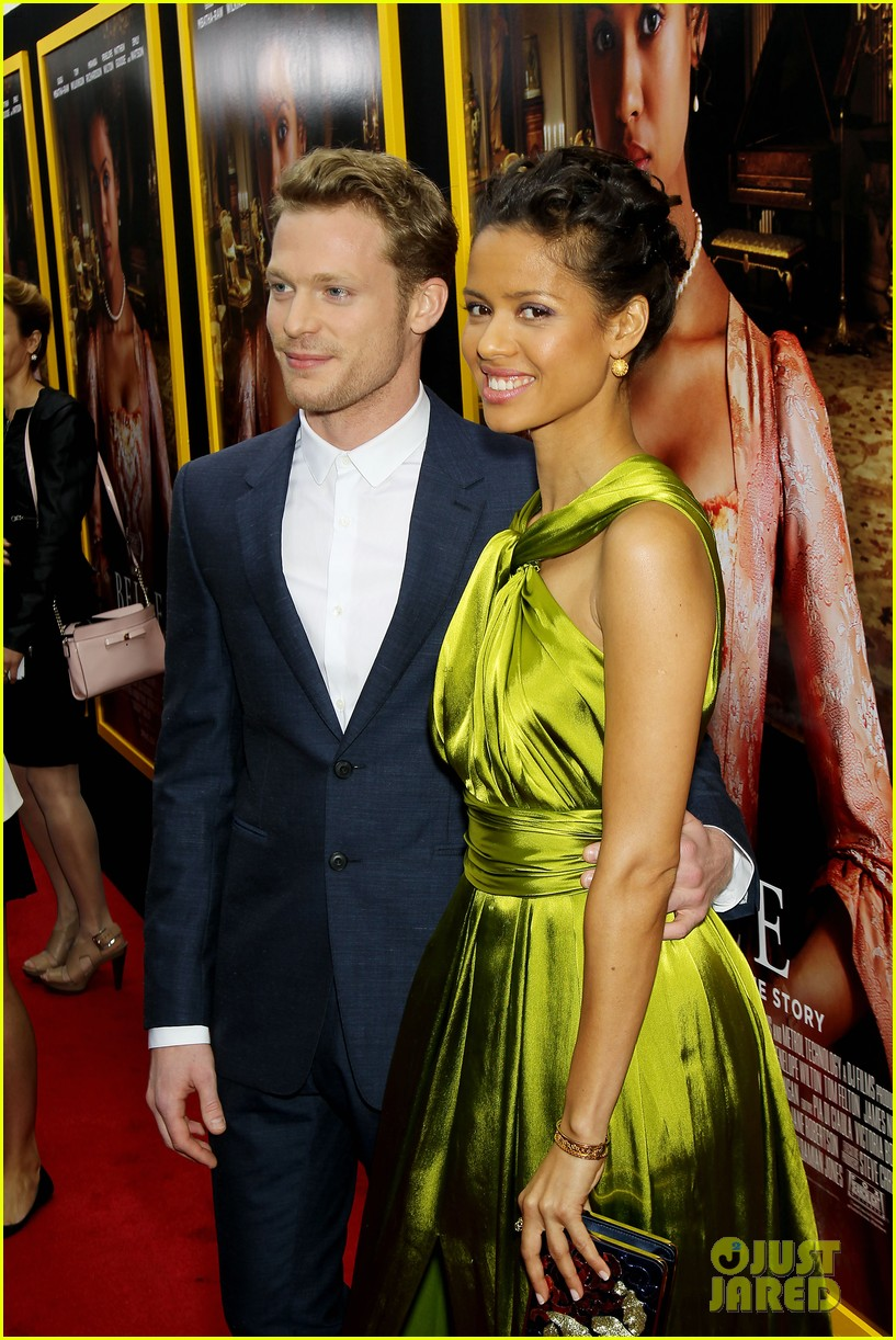 gugu mbatha raw is a green goddess at belle premiere 22