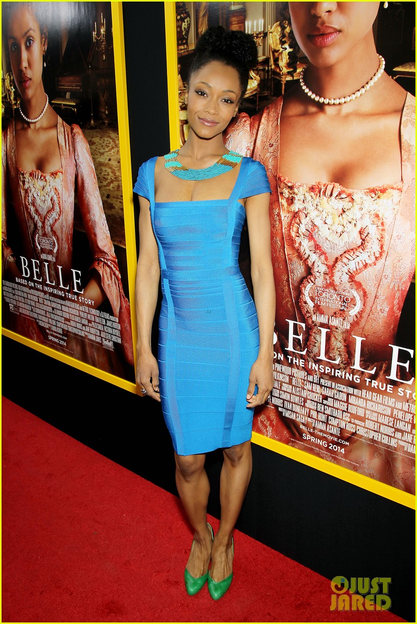 gugu mbatha raw is a green goddess at belle premiere 243101078