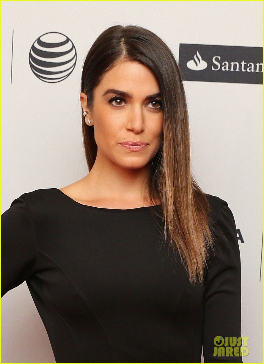 nikki reed wears a tight black dress looks amazing at tribeca premiere 023095907