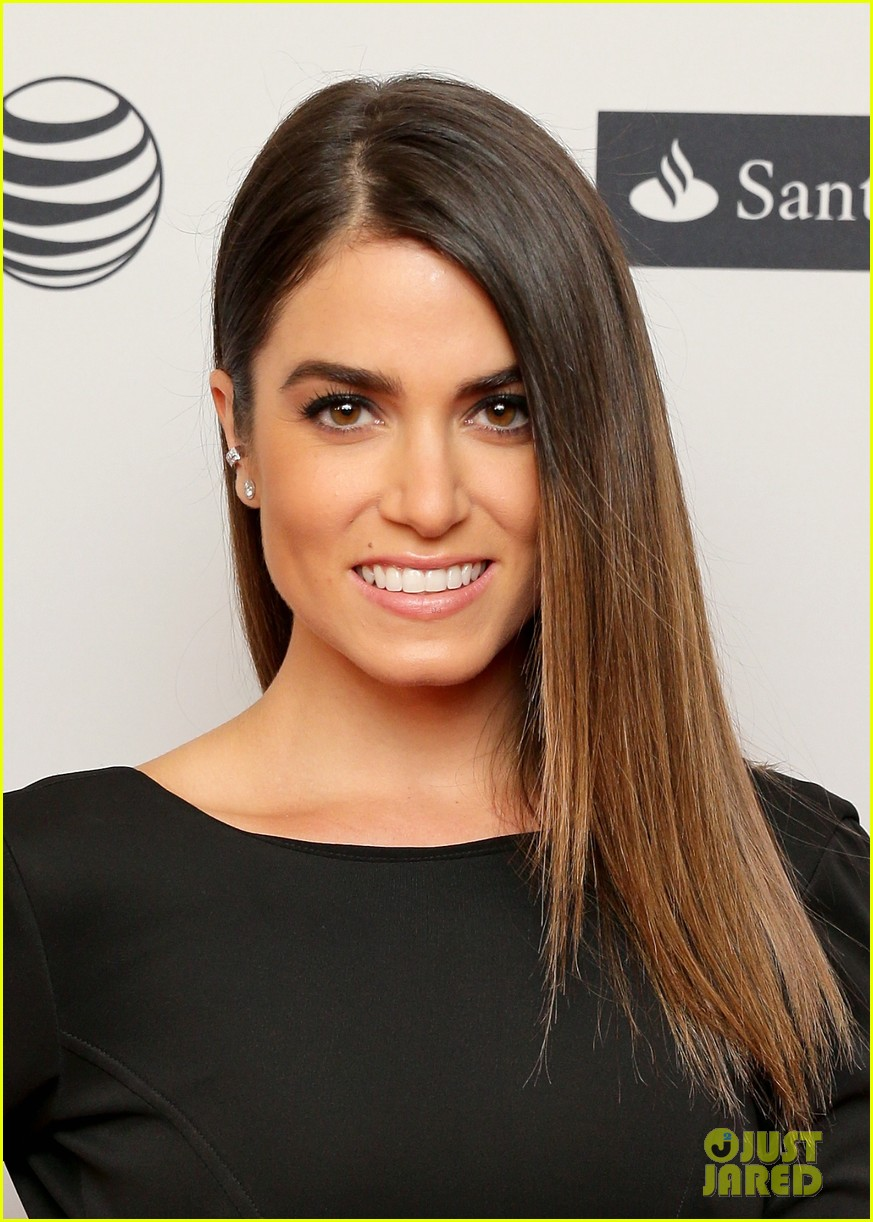 nikki reed wears a tight black dress looks amazing at tribeca premiere 043095909