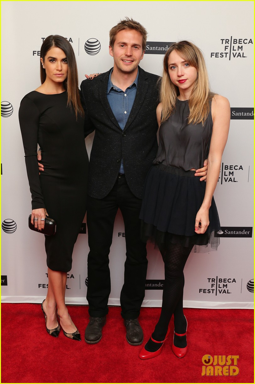 nikki reed wears a tight black dress looks amazing at tribeca premiere 053095910