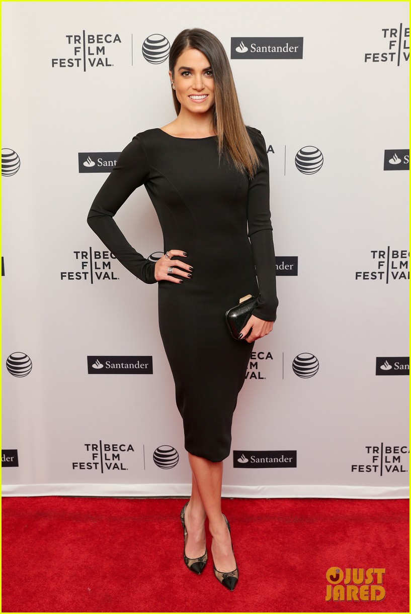nikki reed wears a tight black dress looks amazing at tribeca premiere 063095911