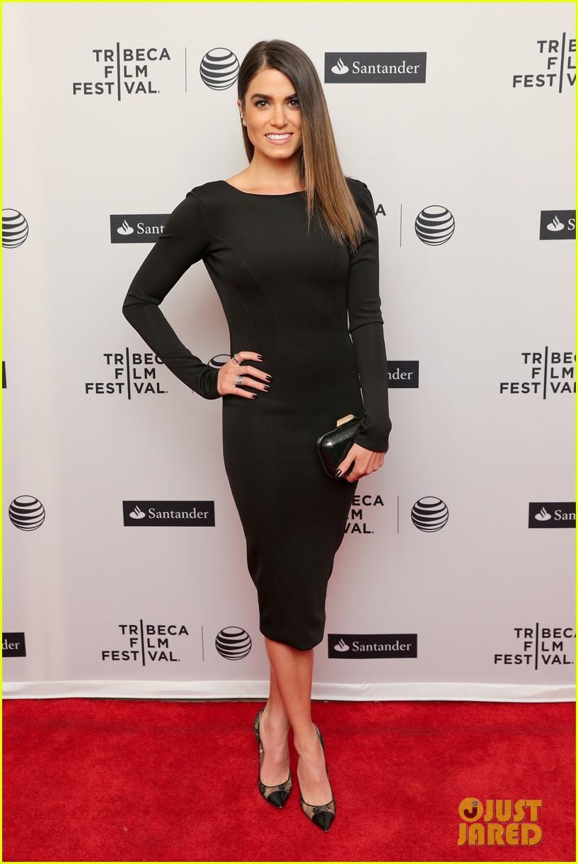 nikki reed wears a tight black dress looks amazing at tribeca premiere 063095911