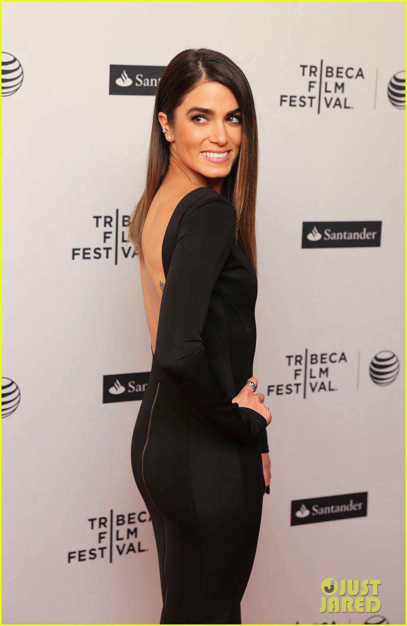 nikki reed wears a tight black dress looks amazing at tribeca premiere 083095913