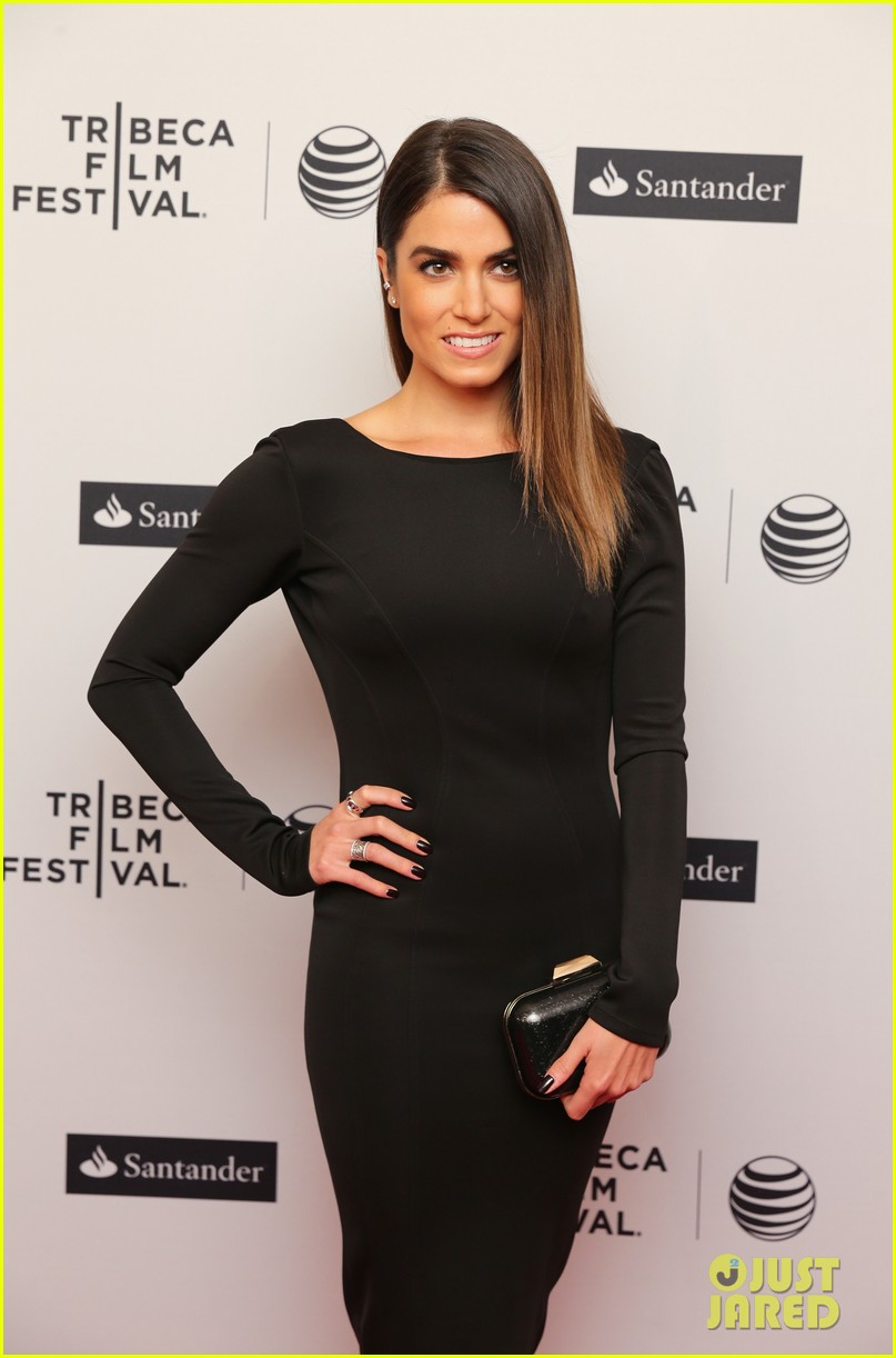 nikki reed wears a tight black dress looks amazing at tribeca premiere 093095914