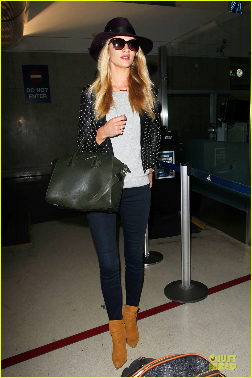 rosie huntington whiteley celebrate 27th birthday at lax 063094876