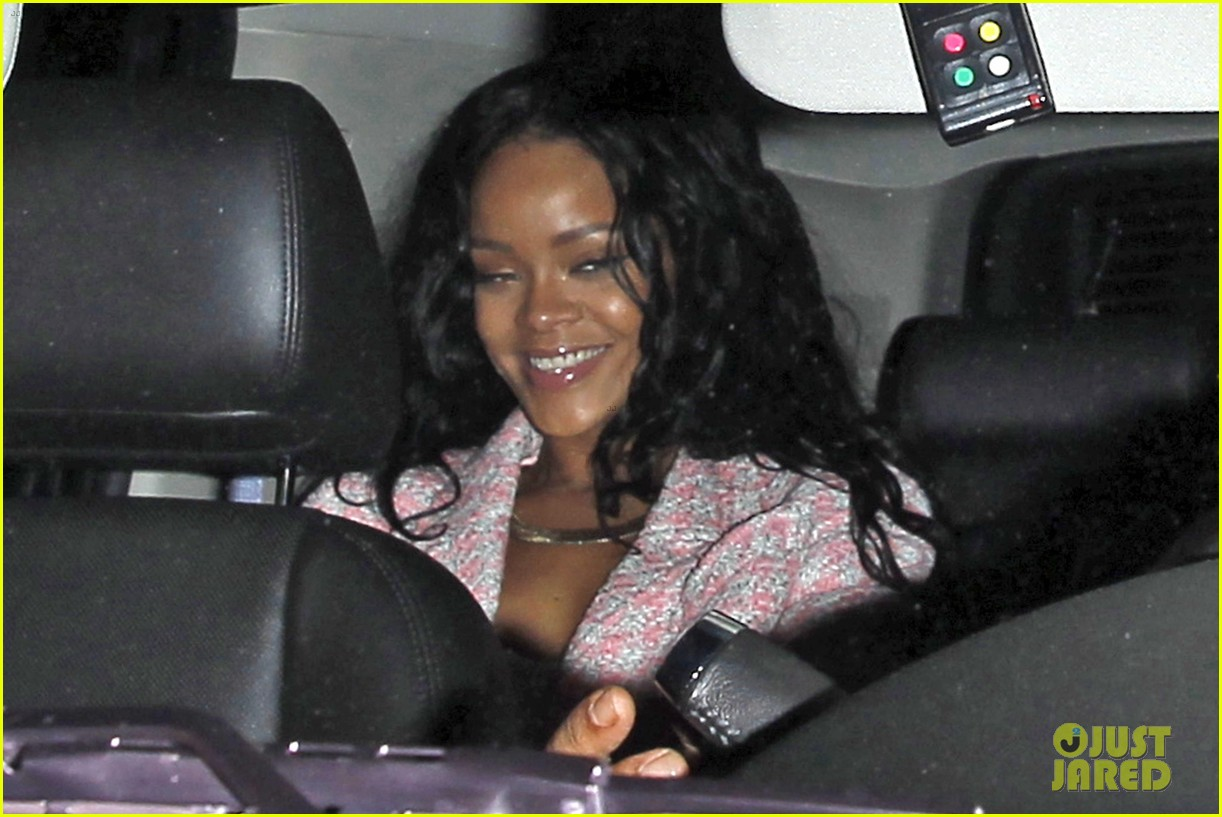 rihanna night out with drake at supperclub 063087409