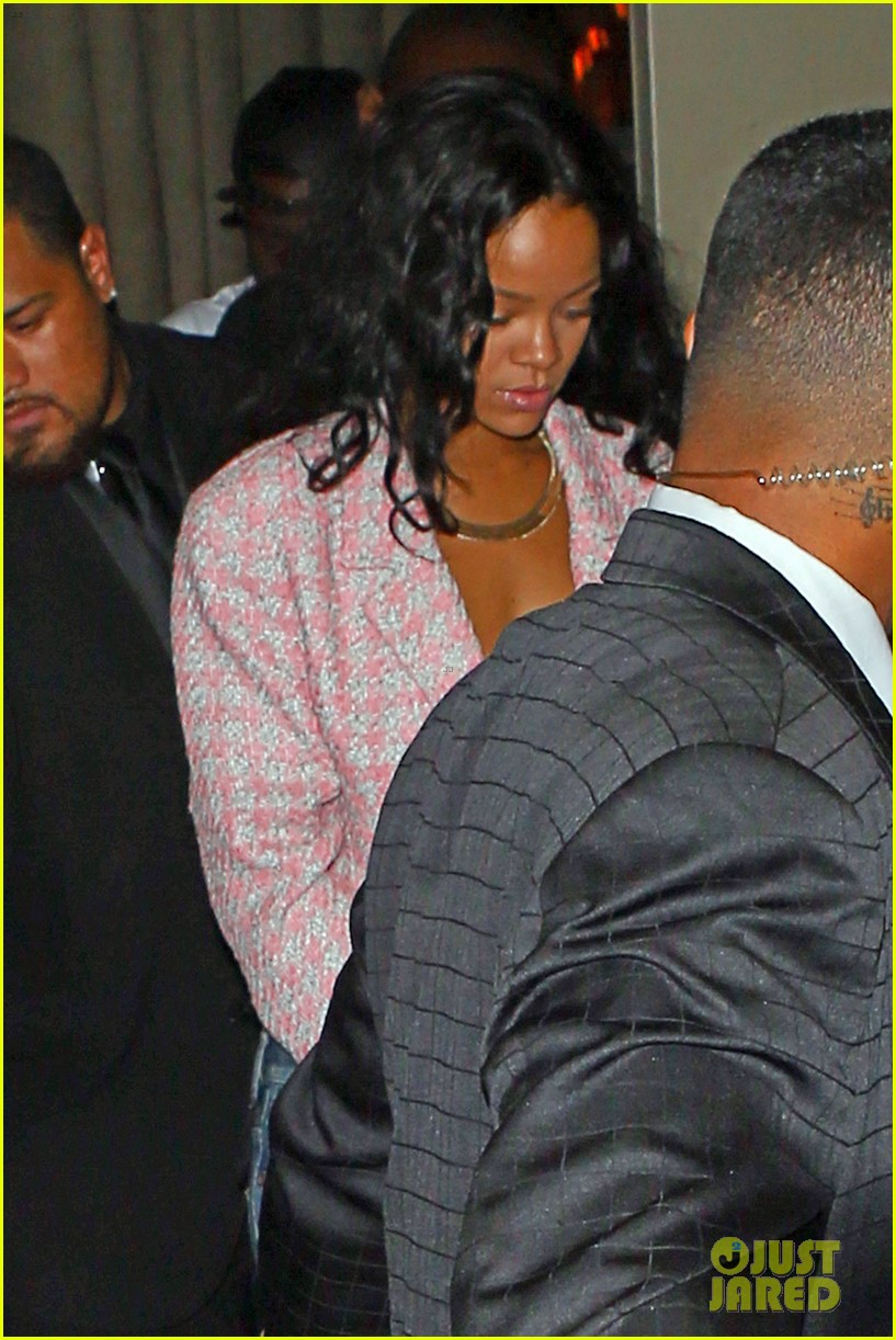 rihanna night out with drake at supperclub 113087414