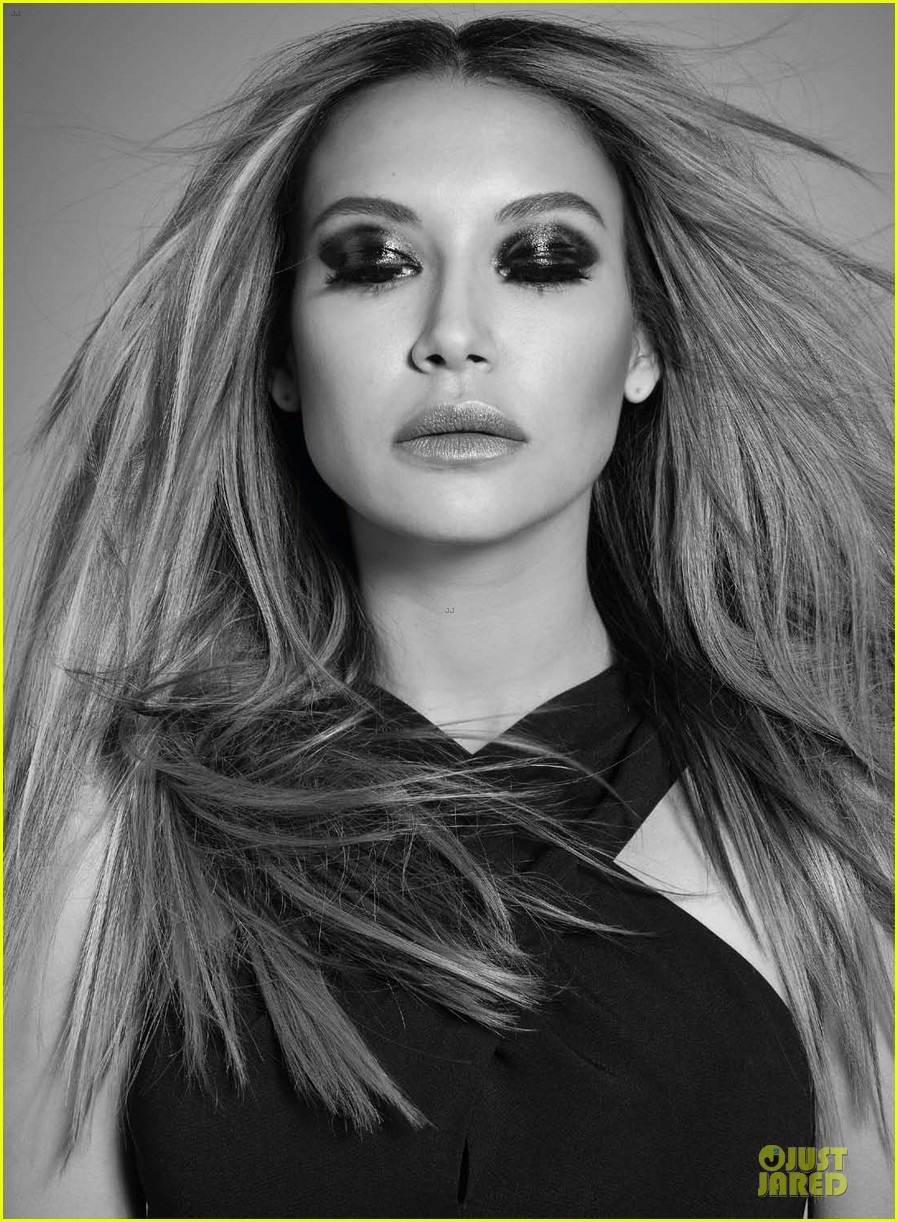 naya rivera takes plunge for da man magazine 023085306