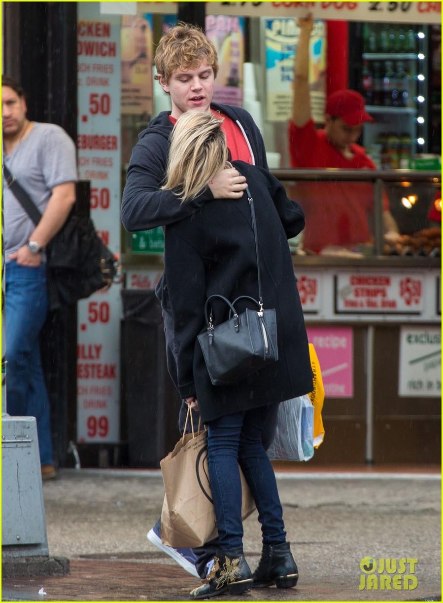 emma roberts evan peters look so in love in new york city 083098002
